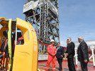 В Азербайджане открыли уникальную буровую установку